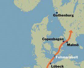 Tunelem z Niemiec do Skandynawii