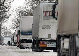 Estońscy przewoźnicy zastrajkowali