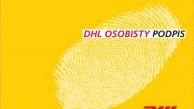 DHL osobisty podpis