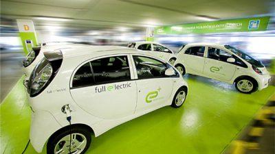 Zielone samochody