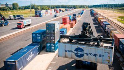 Terminal kontenerowy w Gądkach już otwarty