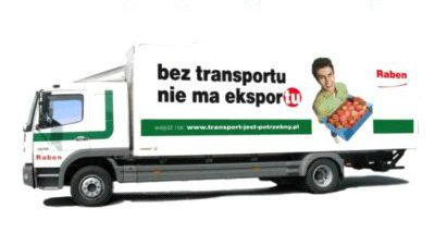 Transportowy konkurs Grupy Raben!