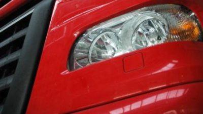 Światła do jazdy dziennej dla ciężarówek
