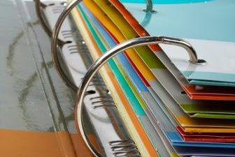 List w pięciu kolorach