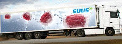 SUUS Fresh transportuje w temperaturze kontrolowanej