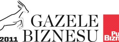 Siódemka Gazelą Biznesu 2011