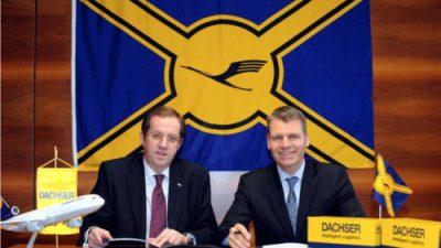 Dachser Globalnym Partnerem Lufthansy Cargo