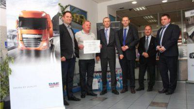 Nagroda specjalna DAF N.V. dla firmy PPUH Limpol