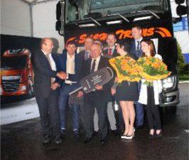 Firma Sachs Trans odbiera pierwszego DAFa XF Euro 6