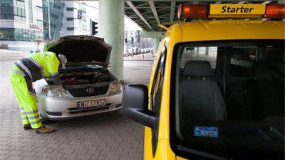Gorąco, gorąco i samochód ulega uszkodzeniu