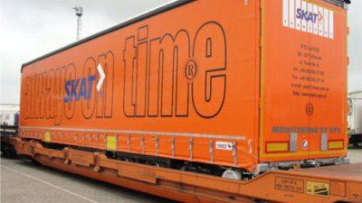 SKAT Transport realizuje transport intermodalny