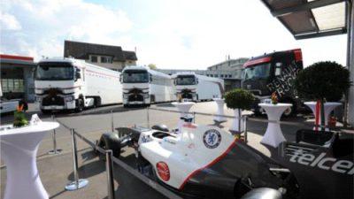 Renault Trucks T High dla zespołu Sauber F1 Team [Zobacz zdjęcia]