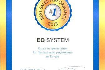 EQ System najlepszy w Europie