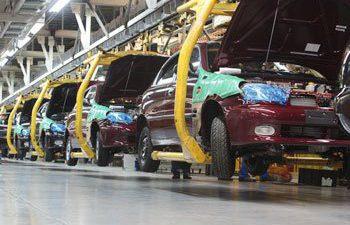 Załamanie produkcji samochodów na Ukrainie