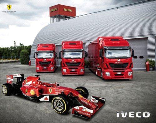 IVECO Stralis Hi-Way dla Formuły 1