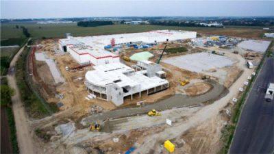 Nowa fabryka Nestlé już prawie gotowa