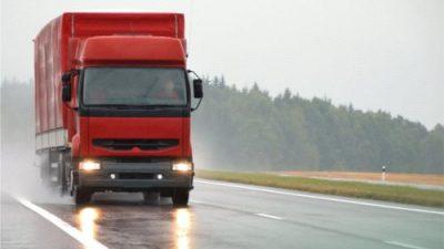 Nieznaczny spadek cen transportu