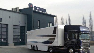 Otwarcie nowego serwisu Scania w Bielsku-Białej