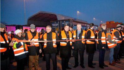 Uroczyste otwarcie Terminalu PCC we Frankfurcie nad Odrą