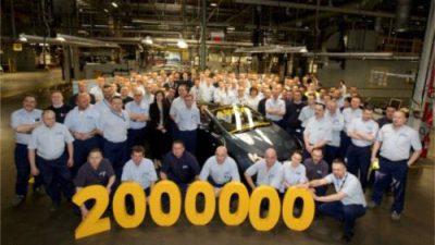 2 miliony samochodów z Gliwic