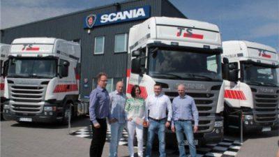 TS–Transport Service odbiera nowe Scanie