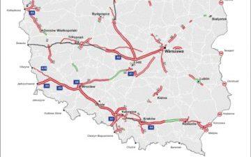 Od jutra więcej płatnych dróg dla ciężarówek
