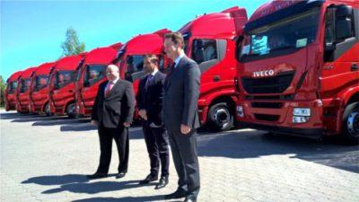 Kolejna dostawa Iveco dla firmy Lipiński