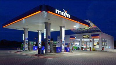 100 stacji paliw w sieci Moya