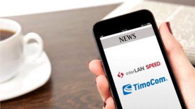 interLAN SPEED i automatyczne udostępnianie ofert na platformie TimoCom