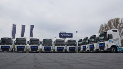 Volvo FH Fuel Concept w Cukrohurcie
