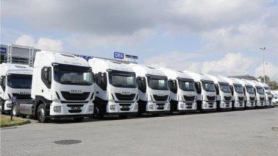Nowe ciągniki Iveco w firmie Korner