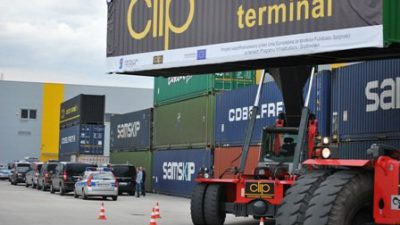 Budowa CLIP Conteiner Intermodal Terminal ukończona