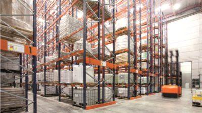 Systemy regałowe Toyota Material Handling dla DHL Fright Europe