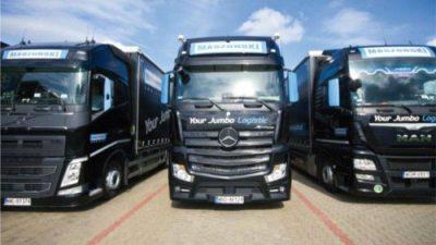 Ponad 300 ciężarówek Maszoński Logistic z CarCube