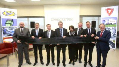 Zakończenie inwestycji w Bridgestone Stargard