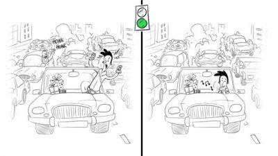 Efekt domina na drodze