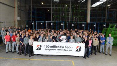 100 mln opon z Bridgestone Poznań (+ FOTO)