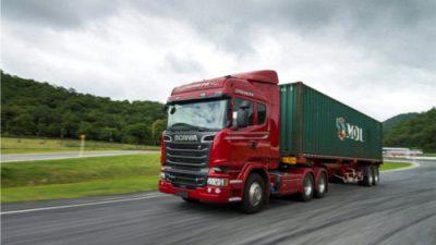 Ciężarowe nie zwalniają