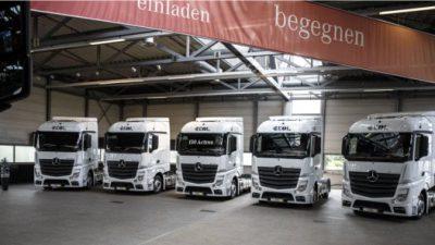 Ekol powiększa swoją europejską flotę o 150 nowych ciągników marki Mercedes