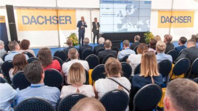 Dachser uroczyście podsumował 10 lat działalności w Polsce