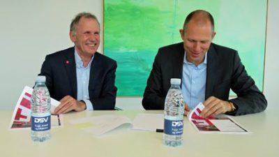 Czerwony Krzyż z globalnym wsparciem DSV