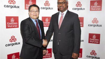 Lotnicze przewozy cargo – współpraca Emirates SkyCargo i Cargolux