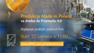 Produkcja Made in Poland na drodze do Przemysłu 4.0