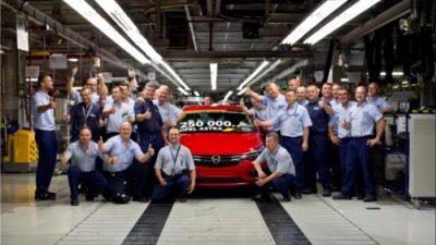 250 000 Opel Astra hatchback wyprodukowany w Gliwicach