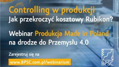 Controlling w produkcji – jak przekroczyć kosztowy Rubikon?