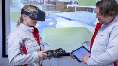 Audi szkoli pracowników logistyki w wirtualnej rzeczywistości