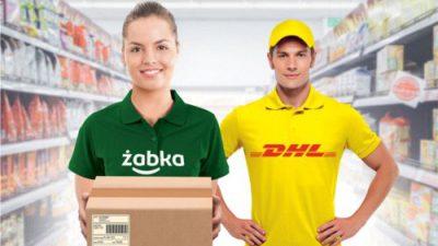 DHL Parcel rozszerza współpracę z firmą Żabka Polska