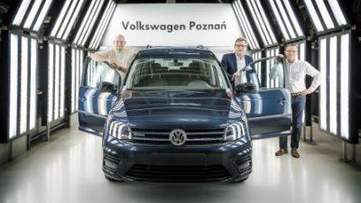 Blisko połowa użytkowych Volkswagenów produkowana w Polsce