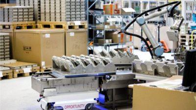 Mobilne roboty zyskują na popularności