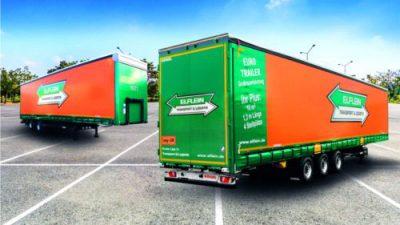 Elflein Spedition & Transport z nowymi naczepami